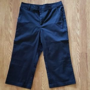 Cherokee Black Capri Pants Uniform